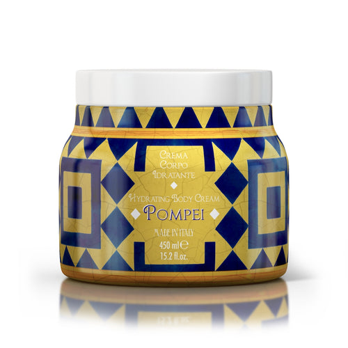 POMPEI - Maioliche Hydrating Body Cream 450ml freeshipping - rudyperfumes