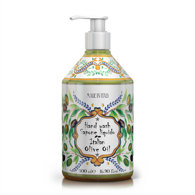 Tuscan Olive Oil - Maioliche Liquid Hand Soap freeshipping - rudyperfumes