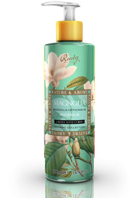 Magnolia - Hand and Body Lotion For Dry Skin freeshipping - rudyperfumes
