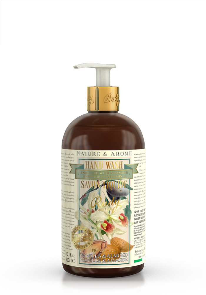 Vanilla & Almond Oil - Liquid Hand Soap