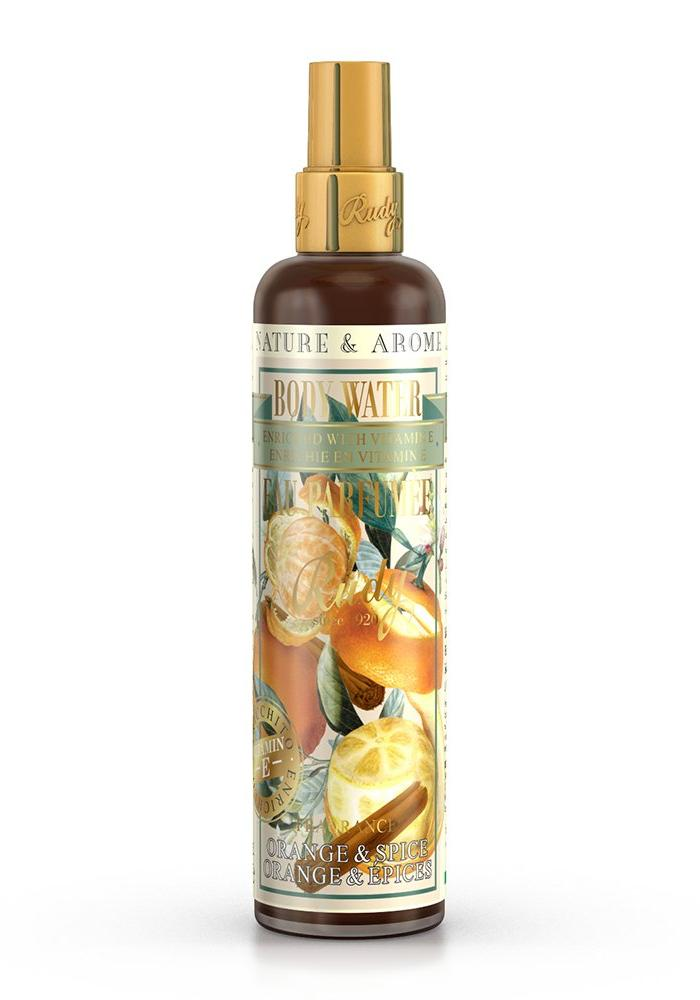 Orange & Spice - Scented Body Water