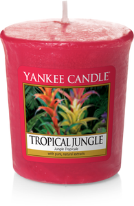 Yankee Candle, Tropical Jungle, tropicale, giungla, sampler, candele profumate, profumi, regalo, colori, candele americane