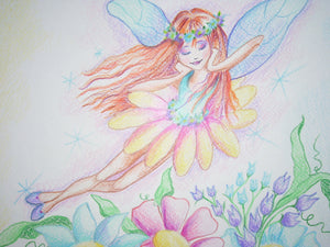 Fairy Dreaming Art Print
