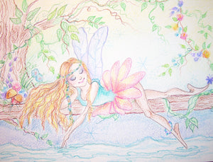 Wistful Water Fairy