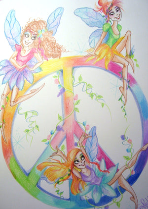 Peace Fairies Trio