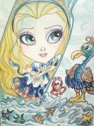 Mini Alice In Wonderland Collection #2 Fairytale Art