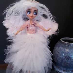 Angel Of Hope OOAK Custom  Doll Monster High Angel Repaint