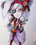 Fairytale Bad Girls  Mini Collection # 1 Twisted Sister Villain Art