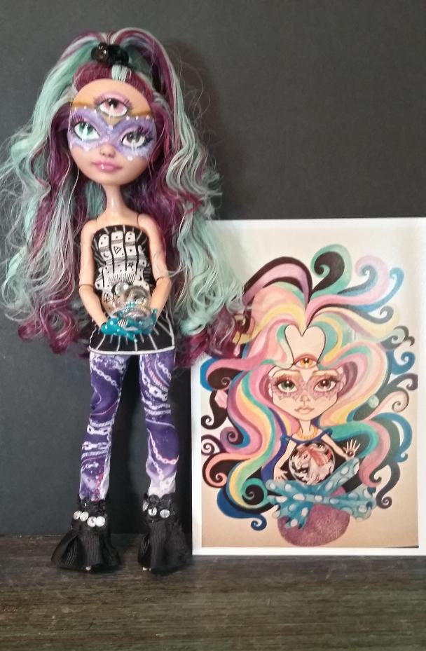 Fortune Teller Doll OOAK Ever After High Repaint