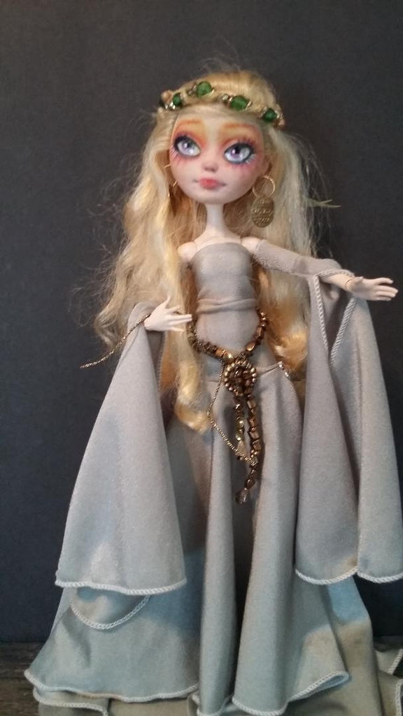 Queen Guenivere OOAK Custom Ever After High Doll Repaint