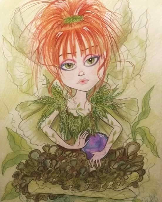 Fantasy Fairy Juno In The Garden