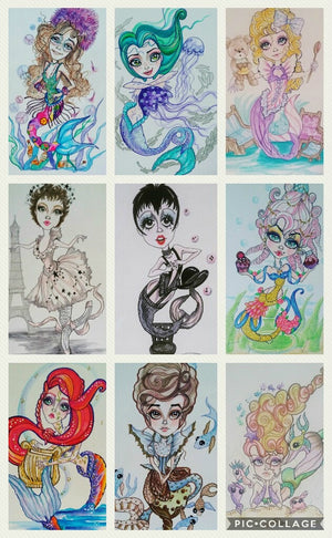 Mermay Collection #2 Mermaid Fantasy art