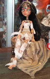 Sahira Mummy Monster High OOAK  custom doll repaint