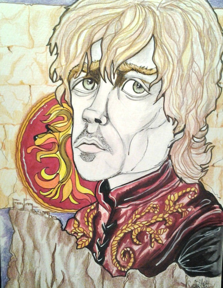 The Imp Tyrion Lannister Game Of Thrones Pop Culture Portrait Art Print