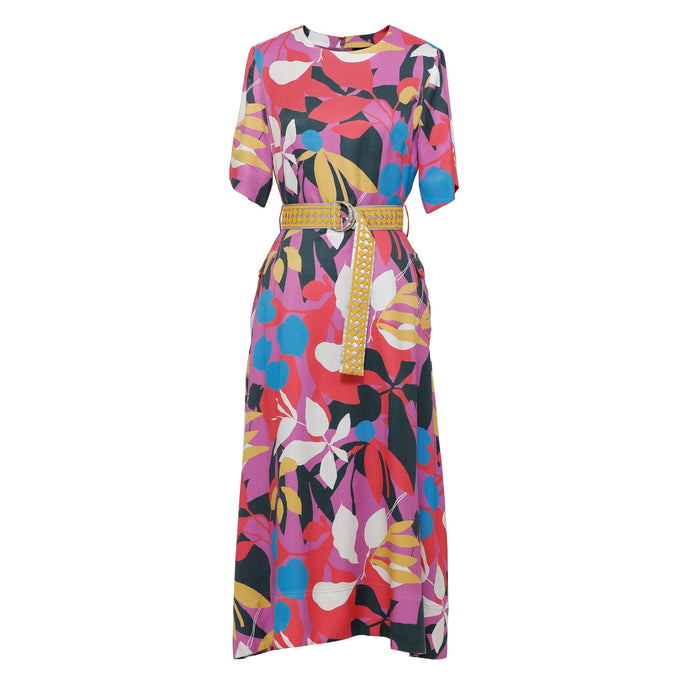 Floral Print Dress - EMILY LOVELOCK