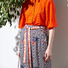 Load image into Gallery viewer, Geometric Print Culottes - EMILY LOVELOCK