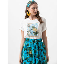 Load image into Gallery viewer, Leopard Tee White - EMILY LOVELOCK