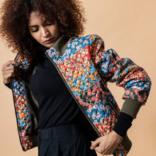 Load image into Gallery viewer, Multi Print Bomber - Use Code EMILYLOVESKRITIKA for a 25% Discount - EMILY LOVELOCK