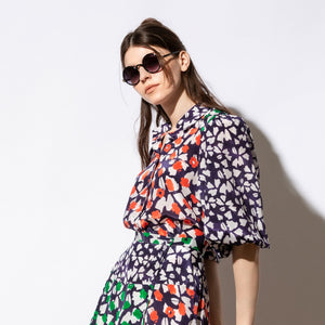 Print Mix Blouse - EMILY LOVELOCK