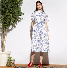 Load image into Gallery viewer, Signature Pottery Print Shirt Dress - EMILY LOVELOCK