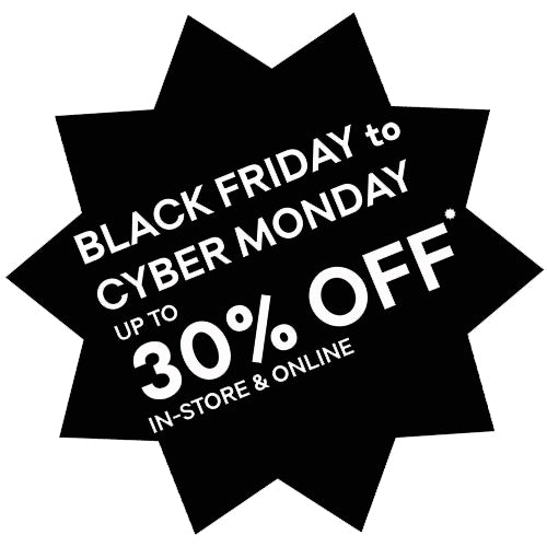 Black Friday - 30% OFF