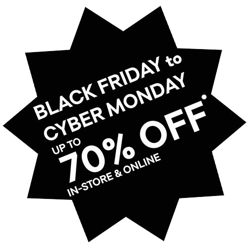 Black Friday - 70% OFF