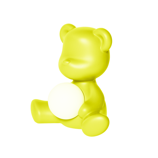 Qeeboo Teddy Girl Rechargeable Lamp Lime