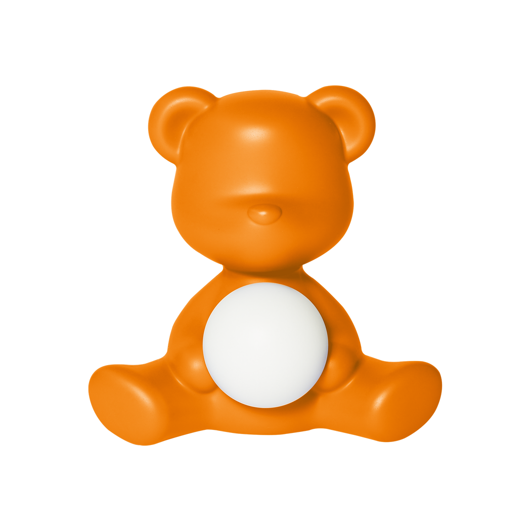 Qeeboo Teddy Girl Rechargeable Lamp Orange