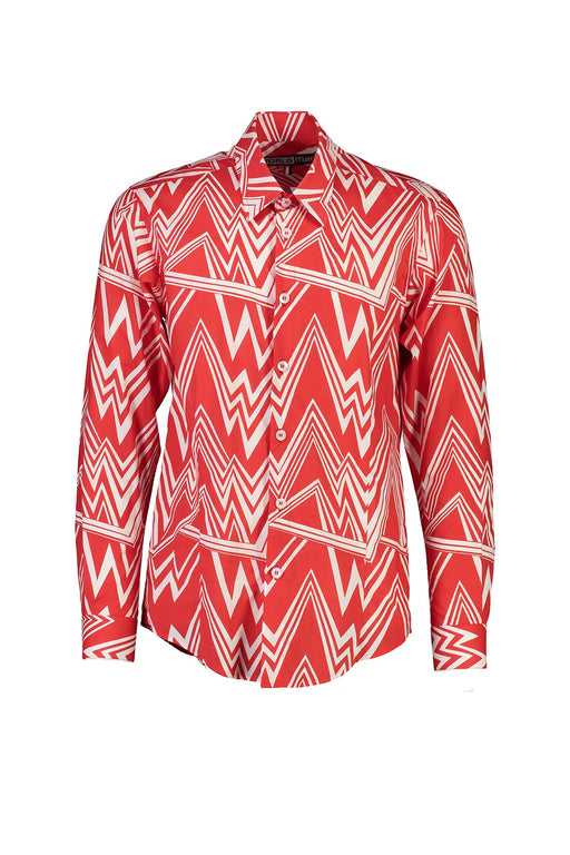 WORLDman 4560 Perverse Shirt Red Pattern