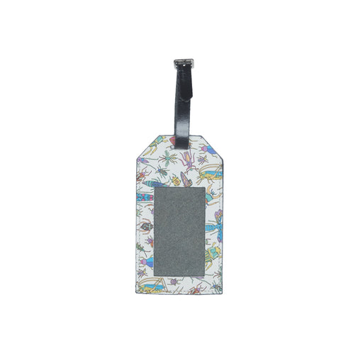 WORLD Liberty Leather Luggage Tag -  Bugs