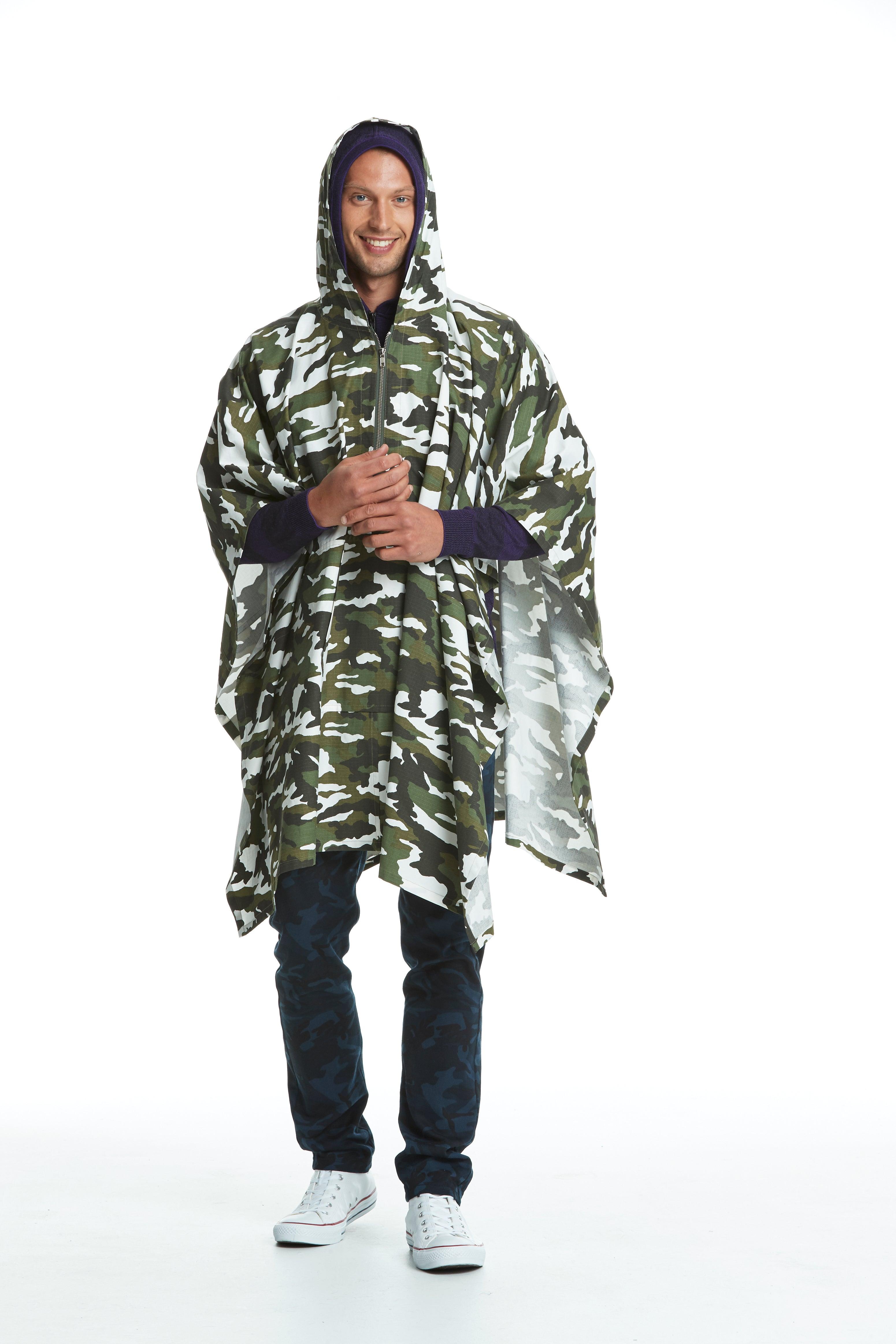 WORLDman 4481 Cassidy Shirt Green Camo