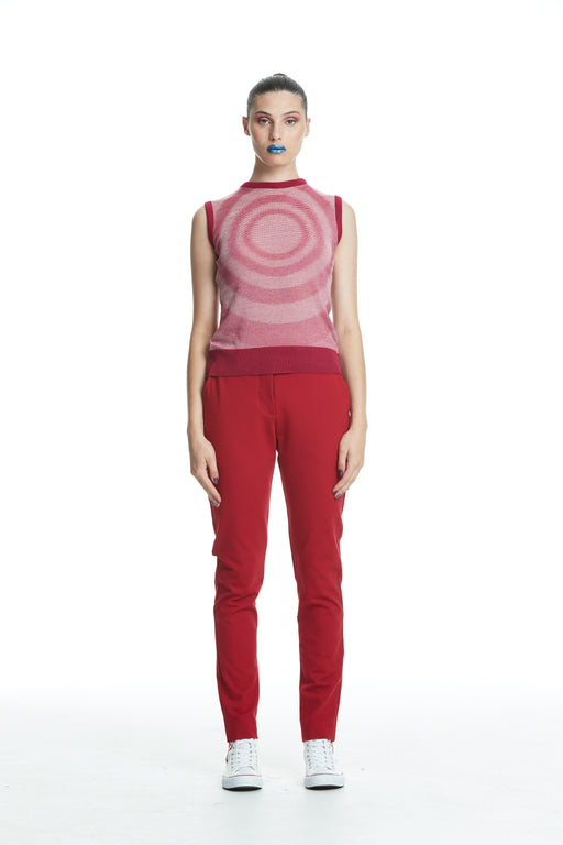 WORLD 4452 The Cool Suit Trouser Red
