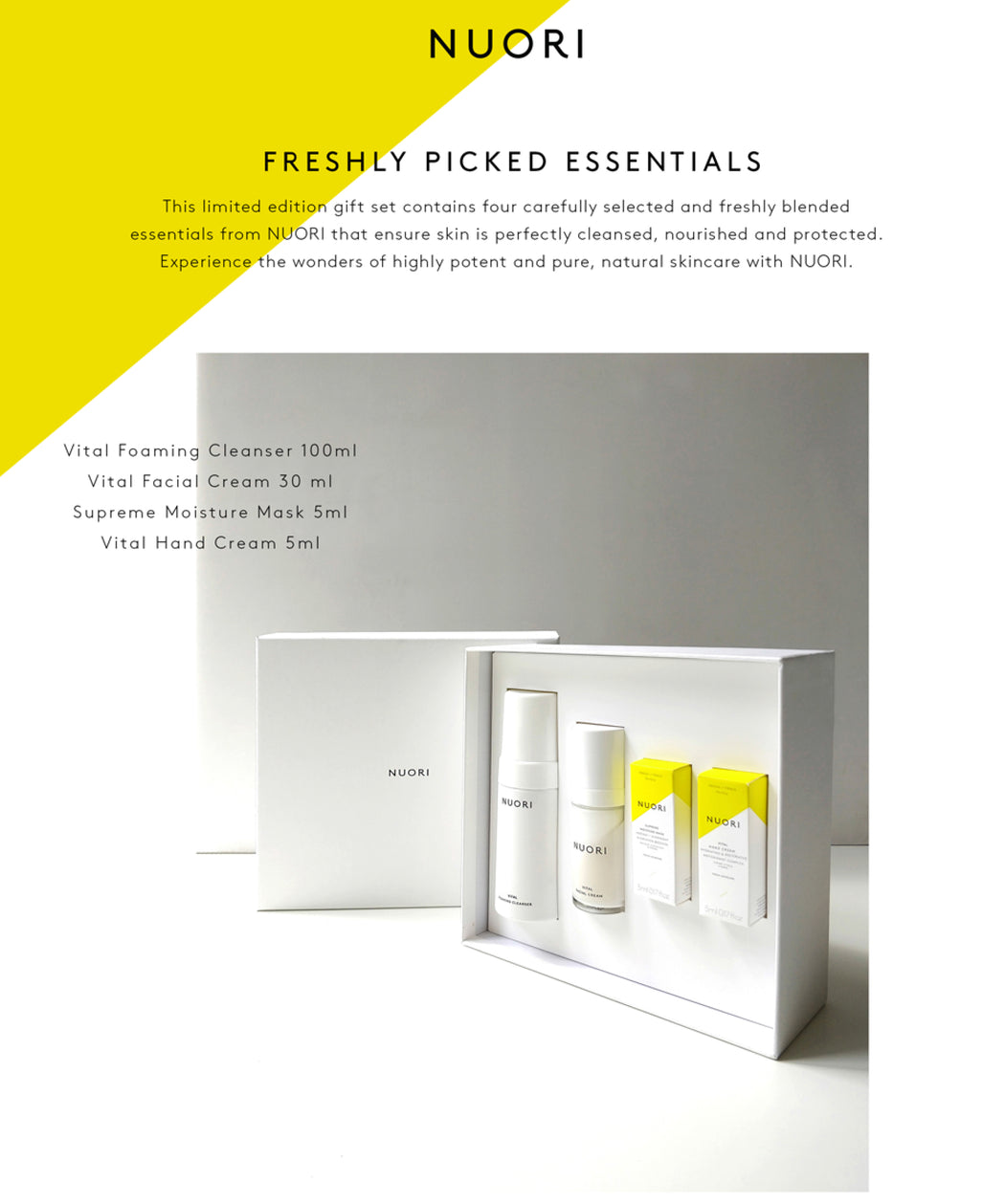 NUORI Freshly Picked Essentials Box