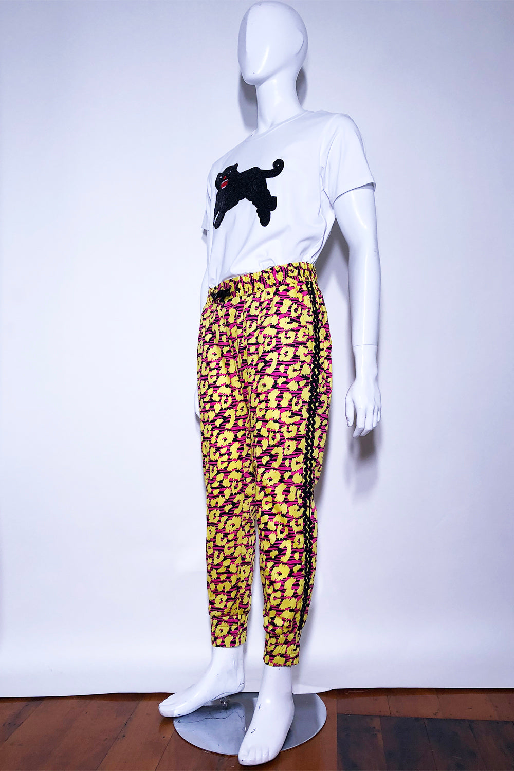 WORLD 4618 Forward Trackpant (Unisex) Electric Animal
