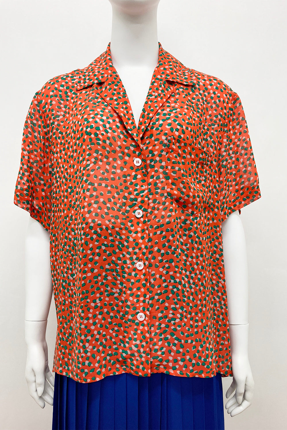 WORLD 4638 Outright Shirt Orange Pattern