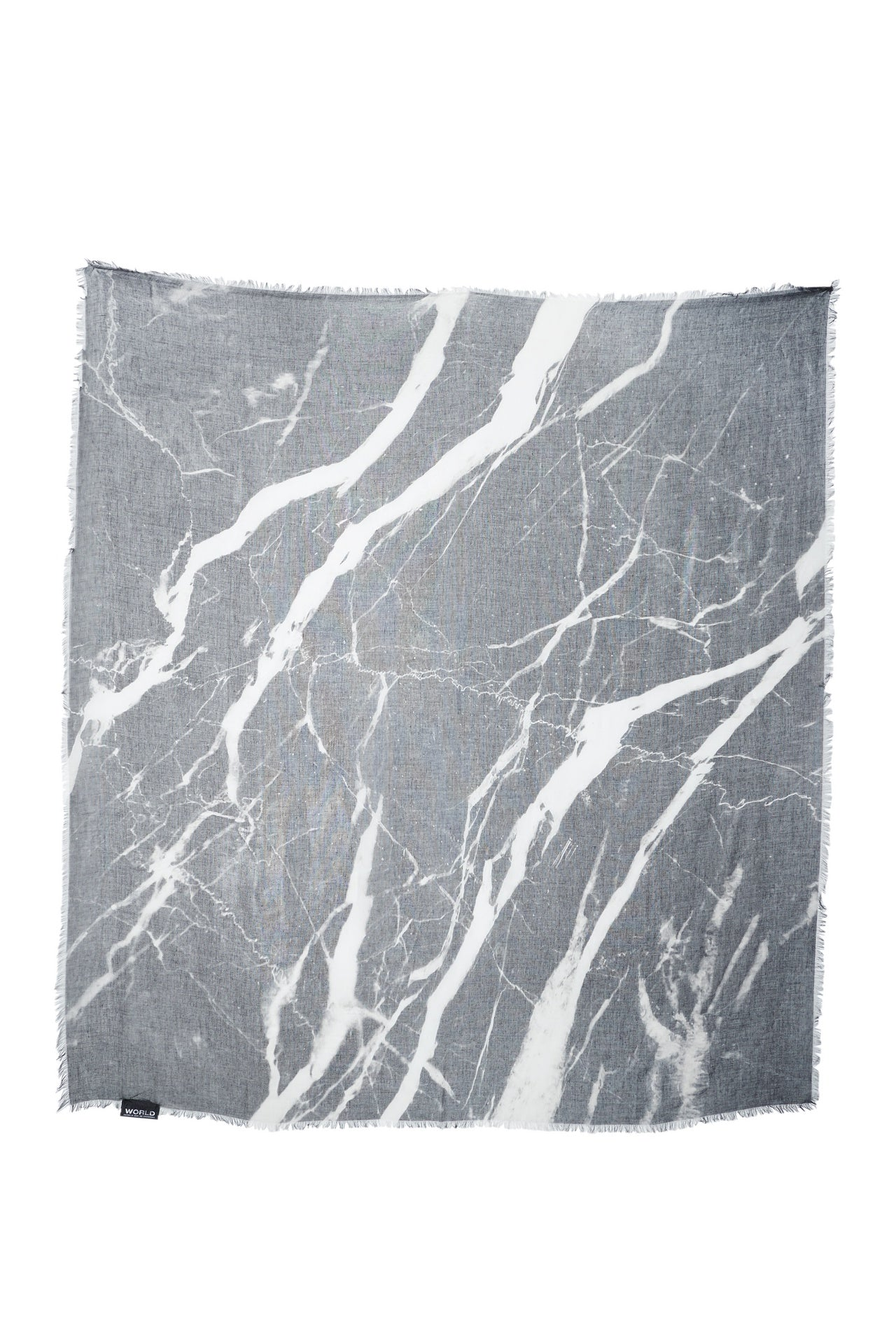 WORLD Marble Cashmere Scarf 140x140cm