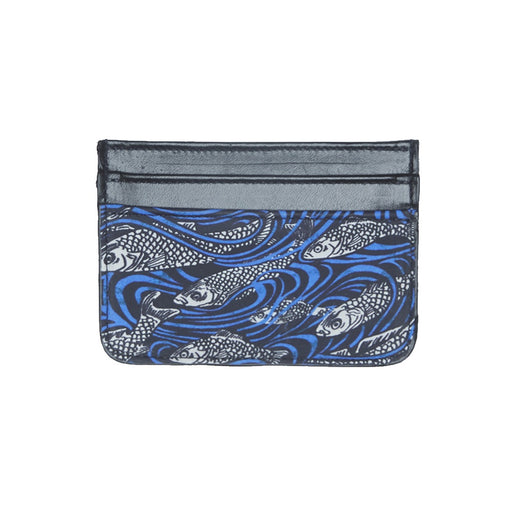 WORLD Liberty Leather Card Holder - Fish