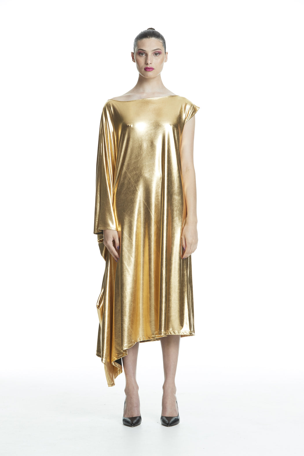 WORLD 4461 Bad Behaviour Dress Gold