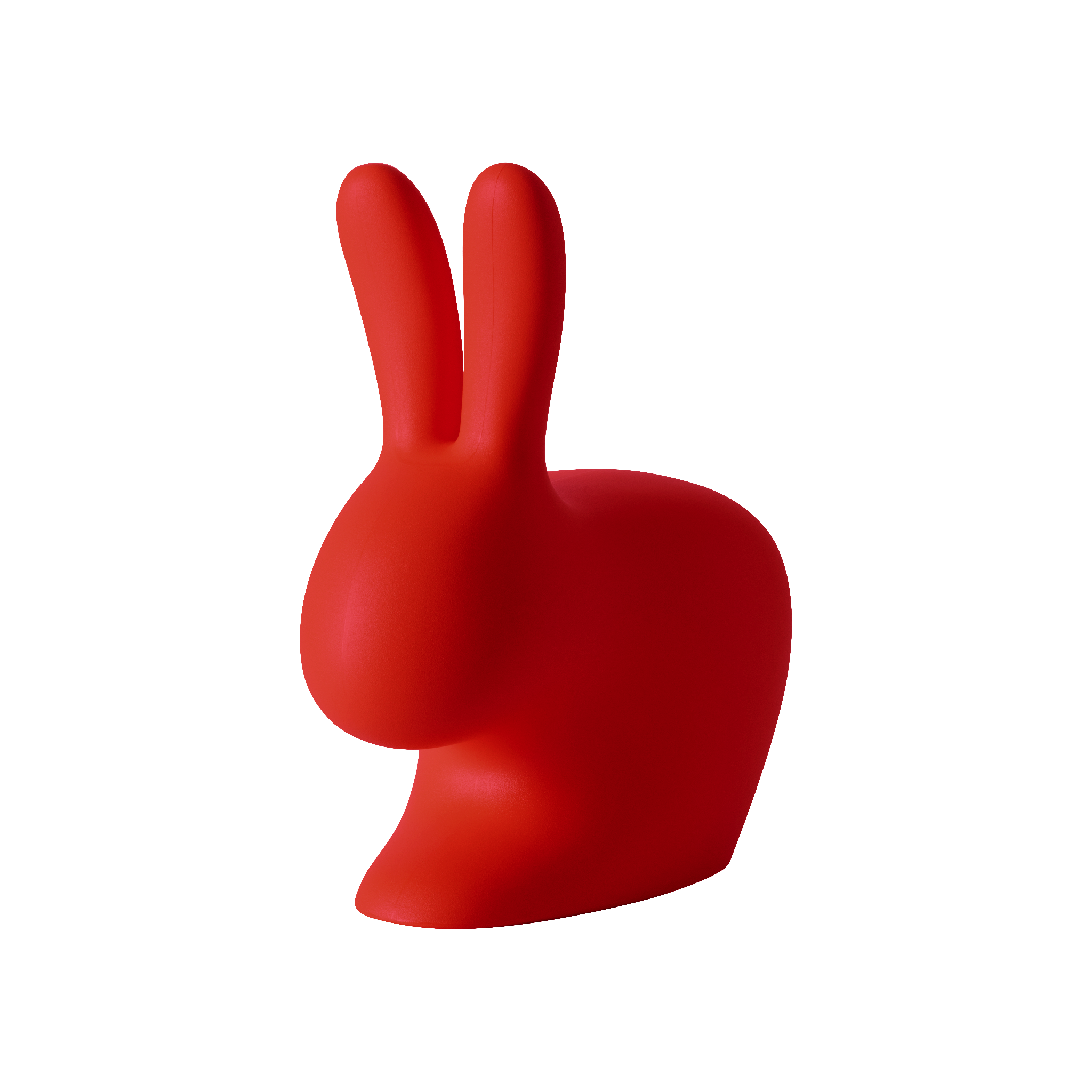 Qeeboo Rabbit Chair Adult Red