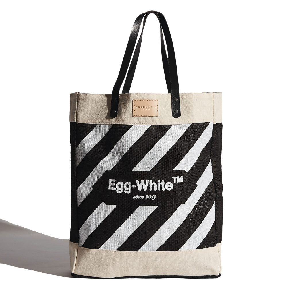 The Cool Hunter Market Bag Large - Egg White