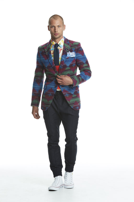 WORLDman 4476 The Filmmaker Blazer Aztec