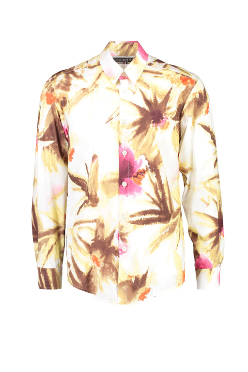 WORLDman 4405 Macho Man Shirt Cream Print