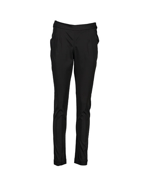 WORLD 4158 Leopard Slim Trouser Black