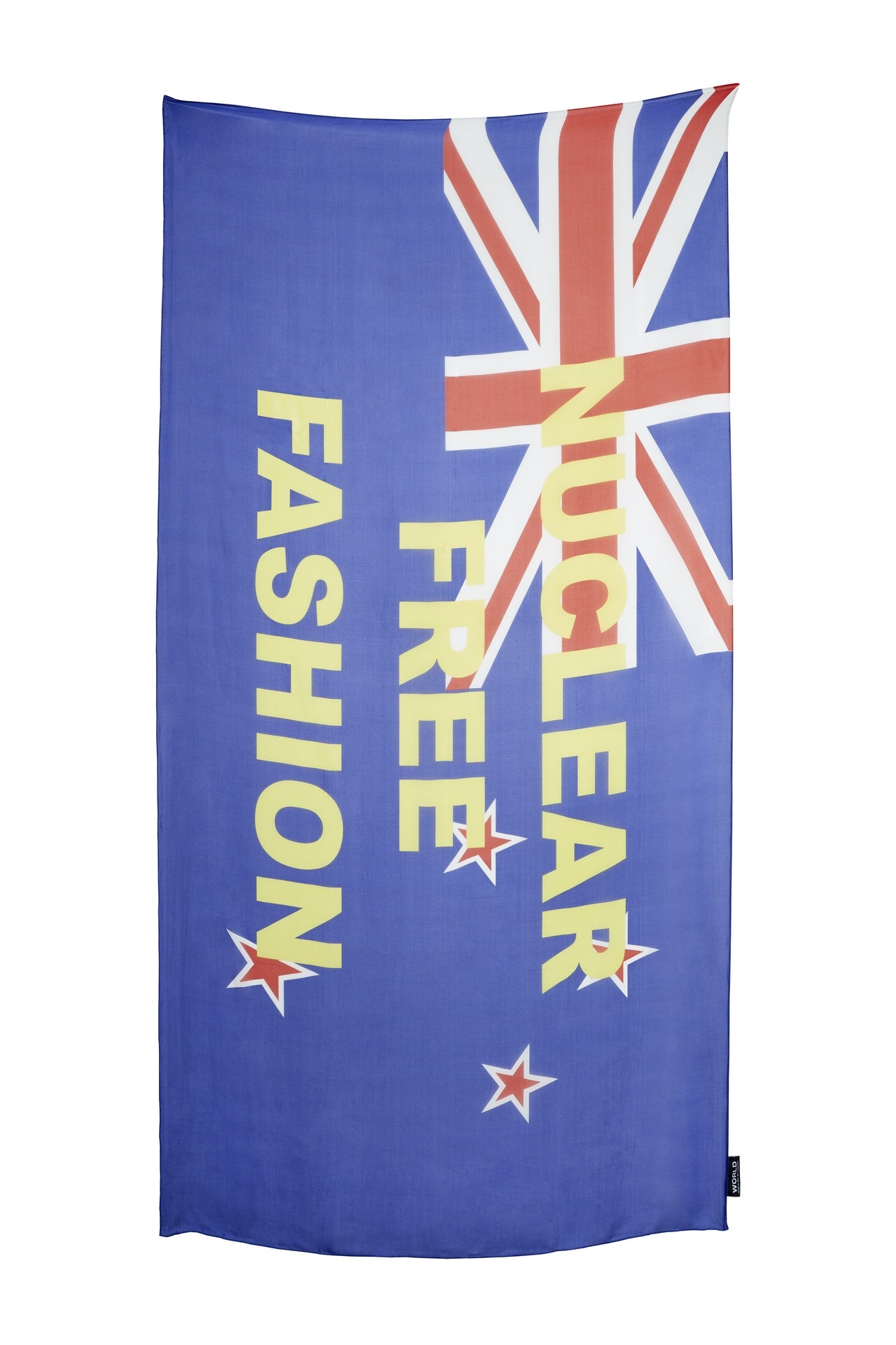 WORLD Nuclear Free Fashion Flag Scarf 90 x 180cm