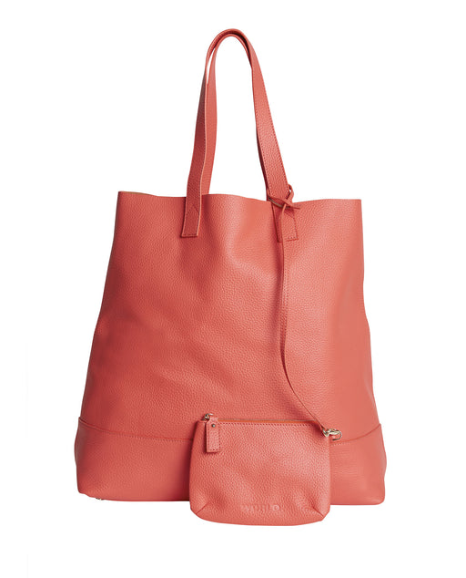WORLD Auckland Tote Bag Coral