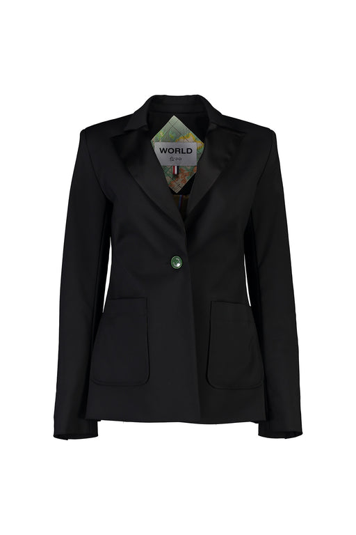 WORLD 4515 Mrs. Right Blazer Black
