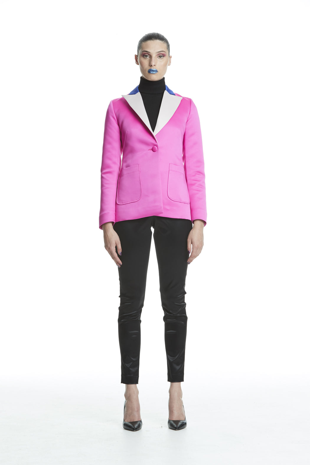 WORLD 4441 The Actor Blazer Pink Royal Oyster
