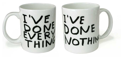 I have done everything Mug x David Shrigley