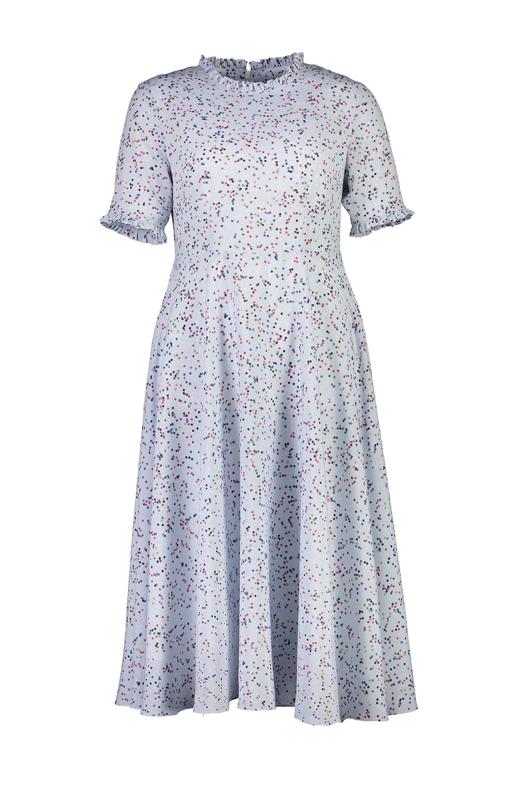 WORLD 4534 Proper Dress Pale Blue Stars