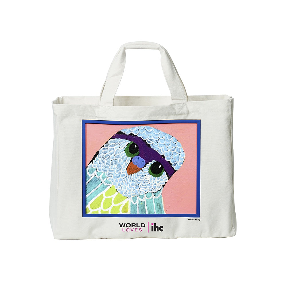 WORLD Loves IHC - Legacy Charity Tote Bag - Andrew Young